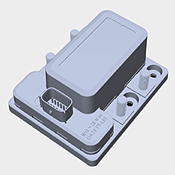 Littelfuse_Bi_Stable_Latching_Relays_SD_Series_880103_880107_3D_Model Thumbnail