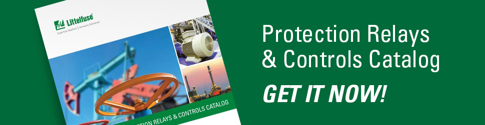 Littelfuse Protection Relays and Controls Catalog