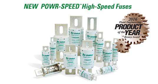 New POWR-SPEED High-Speed Fuses
