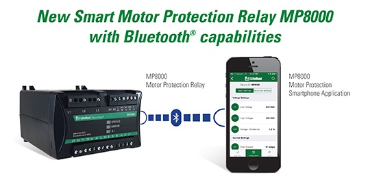 Smart Motor Protection Relay MP8000 with Bluetooth Capabilities